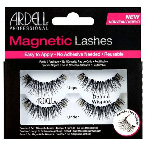 Ardell магнитные накладные ресницы Magnetic Lashes Double Wispies черный ardell магнитные накладные ресницы magnetic lashes double wispies черный