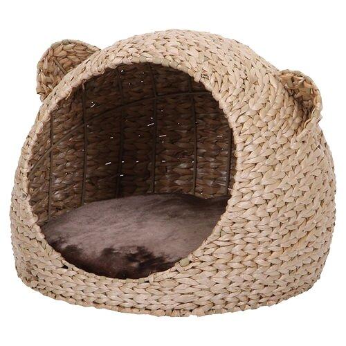 Домик для кошек Nobby Takla 40х40х33 см светло-коричневый