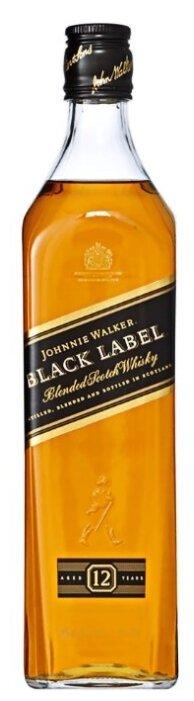 Виски Johnnie Walker Black Label, 0.5 л
