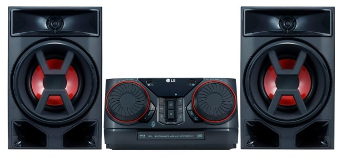 LG Музыкальный центр LG CK43