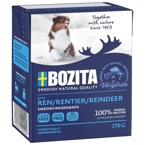 Влажный корм для собак Bozita оленина 370г