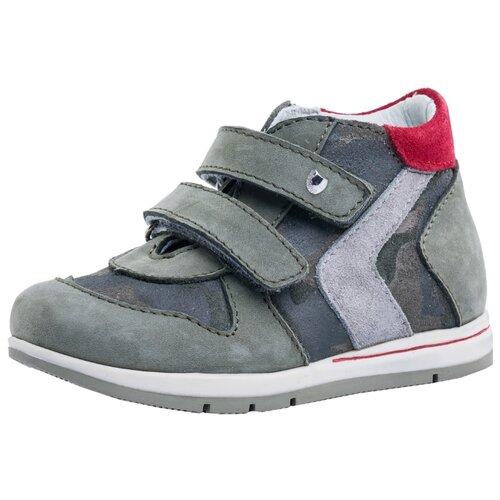 Ботинки КОТОФЕЙ размер 28, оливковыйБотинки<br>