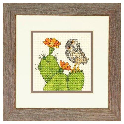 Купить Dimensions Набор для вышивания Колючая сова 15 х 15 см (70-65184), Наборы для вышивания