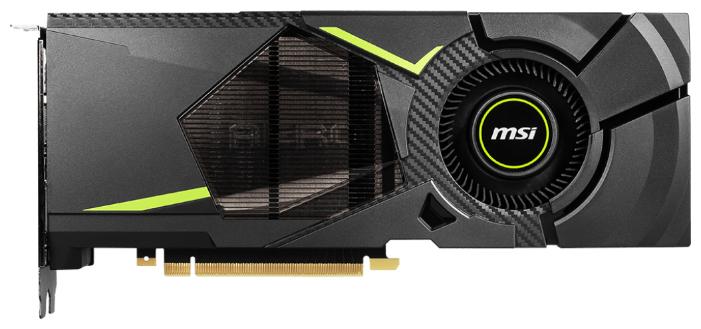 MSI Видеокарта MSI GeForce RTX 2070 1410MHz PCI-E 3.0 8192MB 14000MHz 256 bit HDMI HDCP AERO