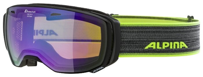 Горнолыжная маска Alpina Estetica hm Pink sph. S2 Grey/Cassis