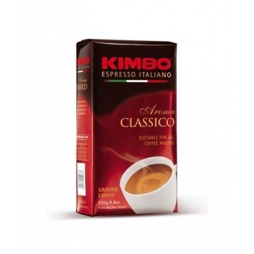 Кофе молотый Kimbo Aroma Classico вакуумная упаковка, 250 г цена 2017