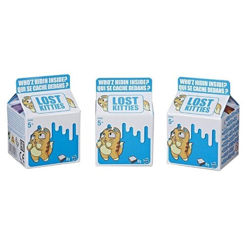 Купить Игровой набор Hasbro Lost Kitties E4665, Игровые наборы и фигурки