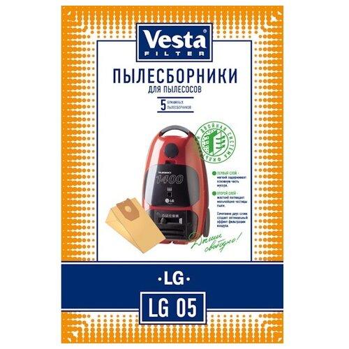 Vesta filter Бумажные пылесборники LG 05 5 шт.