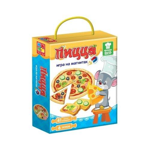 Настольная игра Vladi Toys Крошка Шеф Пицца VT3004-08 vladi toys игра фрукты овощи vladi toys