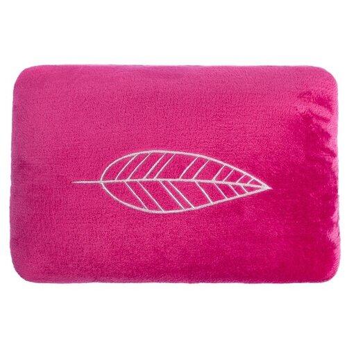 Подушка декоративная Этель Лист (2853383), 40 x 30 см вишневый