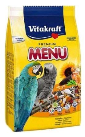 Vitakraft Корм для крупных попугаев Premium Menu