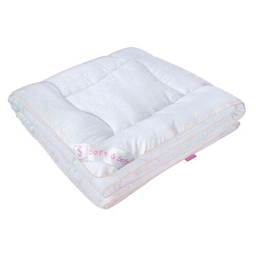Одеяло Традиция Soft&Soft Шелк, всесезонное, 140 х 205 см (белый)