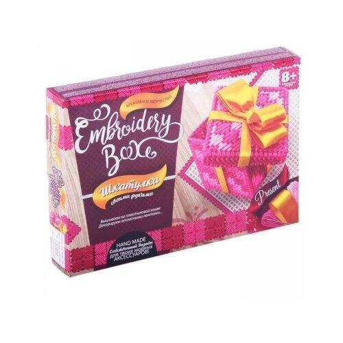 Купить Danko Toys Набор для вышивания Embroidery Box Шкатулка Набор 7 (EMB-01-07), Наборы для вышивания