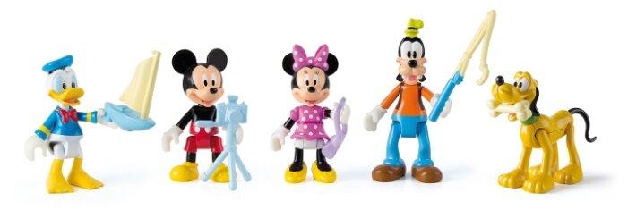 Фигурки IMC Toys Дорожные гонщики Микки Маус и его друзья 181861