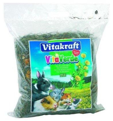Сено Vitakraft VITA VERDE луговое с цветами одуванчика 0.5 кг
