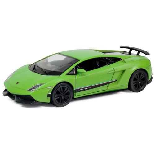 Купить Легковой автомобиль RMZ City Lamborghini Gallardo LP570-4 Superleggera (554998M(A)) 1:36 матовый зеленый, Машинки и техника
