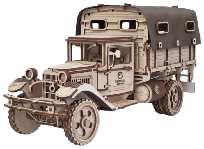 Сборная модель Lemmo ГАЗ-АА Тент (00-72),,