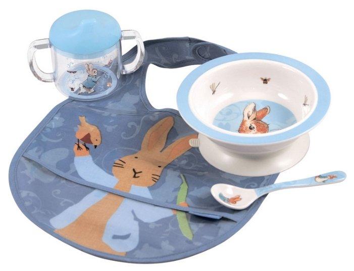 Комплект посуды Petit Jour Paris Peter Rabbit (BP910)