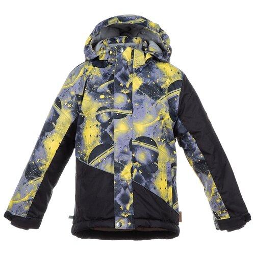 Куртка Huppa Alex 1 17800130 размер 116, 82709 black pattern/ black outdoor checked pattern artificial wool fringed shawl scarf