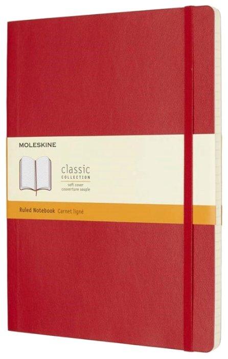 Блокнот Moleskine Classic Soft 190х250, 96 листов 431021(QP621F2)