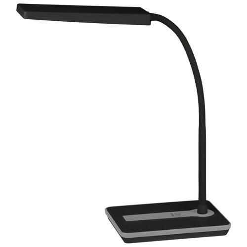 Настольная лампа светодиодная ЭРА NLED-446-9W-BK, 9 Вт настольная лампа эра nled 454 9w bk