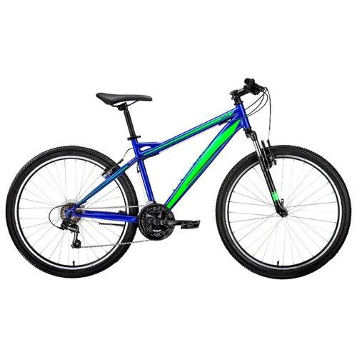 цена на Горный (MTB) велосипед FORWARD Flash 26 1.0 (2019) синий/зеленый 17 (требует финальной сборки)