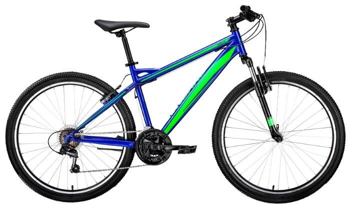 Велосипед Forward Flash 26 1.0 (2019) 15 синий/зеленый RBKW9MN6Q005 (97 899)