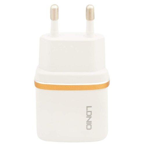 Купить Сетевая зарядка LDNIO DL-AC50 + Micro USB белый