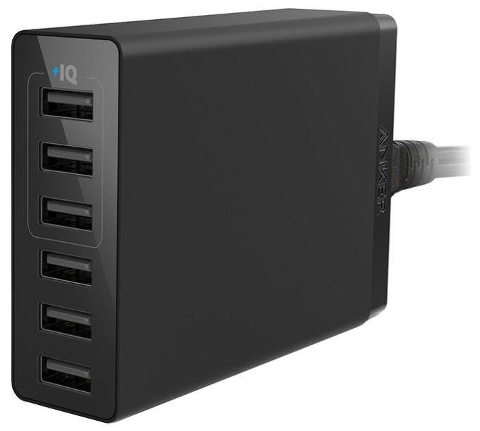 Сетевая зарядка ANKER PowerPort 6 Lite