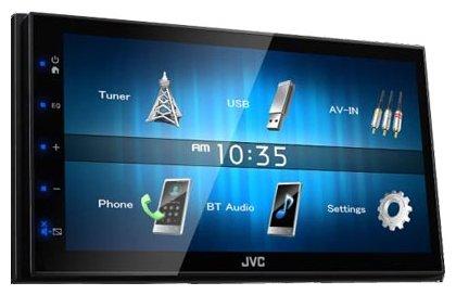 Автомагнитола JVC KW-M741BT, USB