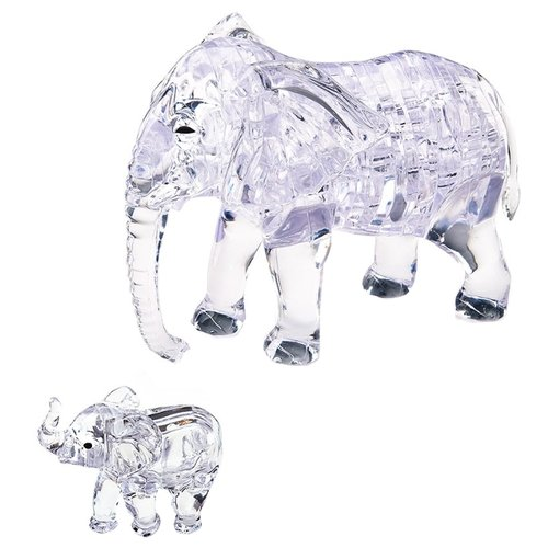 Набор пазлов Crystal Puzzle Два слона (90235).