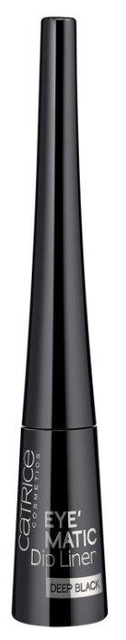CATRICE Жидкая подводка для глаз Eye'Matic Dip Liner Deep Black