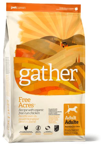 Корм для собак Gather (2.72 кг) Free Acres