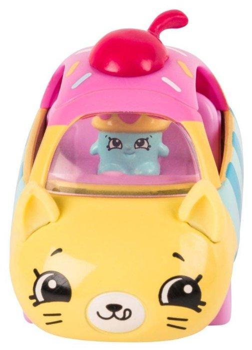 Игровой набор Moose Cutie Car с фигуркой Shopkins Cupcake Cruiser 56579
