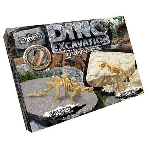 Купить Набор для раскопок Danko Toys Dino Excavation Динозавры № 3, Наборы для исследований