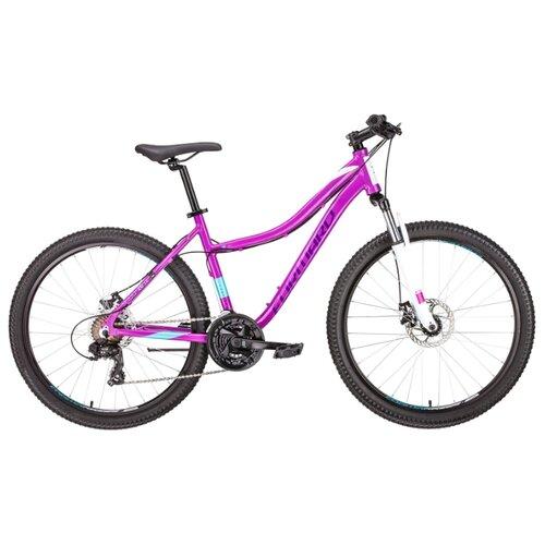 """Горный (MTB) велосипед FORWARD Seido 26 2.0 Disc (2019) фиолетовый 17"""" (требует финальной сборки)"""