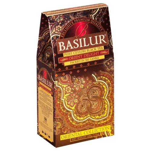 Чай черный Basilur Oriental collection Orient delight, 100 г basilur orient delight черный листовой чай 100 г