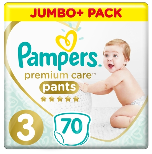 Купить Pampers Premium Care трусики 3 (6-11 кг) 70 шт. по выгодной ... 659953259cd