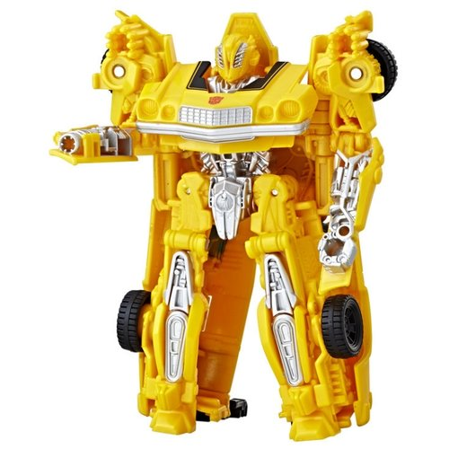 Трансформер Hasbro Transformers Бамблби. Заряд Энергона: Мощь (Трансформеры 6) E0759 желтый hasbro войны титанов вояджер дженерейшнс трансформеры b7769 b6459