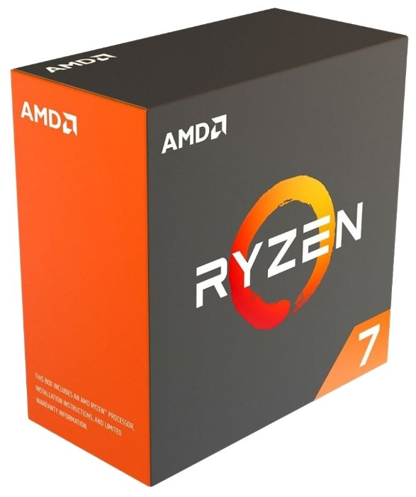 AMD Процессор AMD Ryzen 7 Summit Ridge
