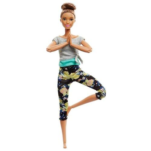Купить Кукла Barbie Безграничные движения Йога Шатенка, 29 см, FTG82, Куклы и пупсы