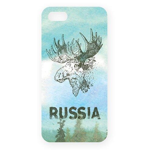 Купить Чехол Mitya Veselkov IP5.МITYA-144 для Apple iPhone 5/iPhone 5S/iPhone SE лось