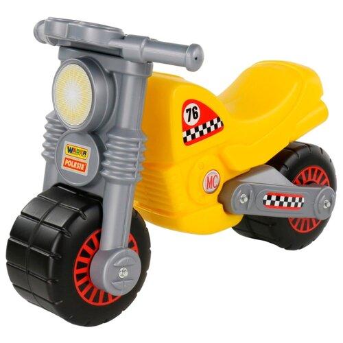 Фото - Каталка-толокар Полесье Моторбайк (66275 / 66282) желтый полесье набор игрушек для песочницы 468 цвет в ассортименте