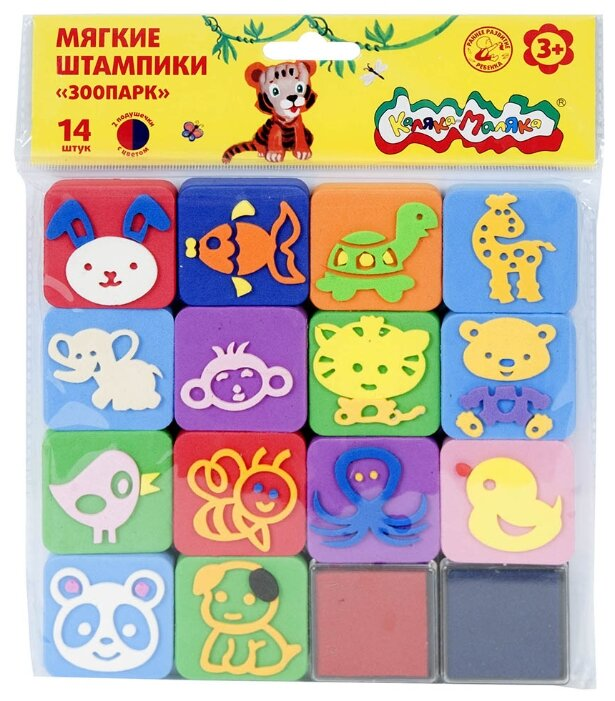 Набор штампов Каляка-Маляка Зоопарк (ШКМ-З)