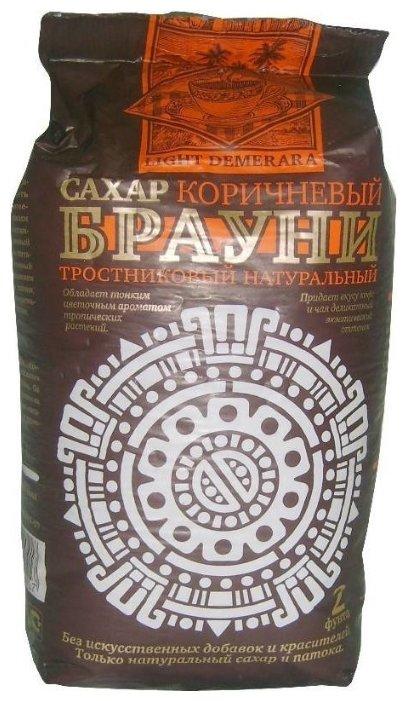 Сахар Брауни Демерара светлый тростниковый натуральный, 900г