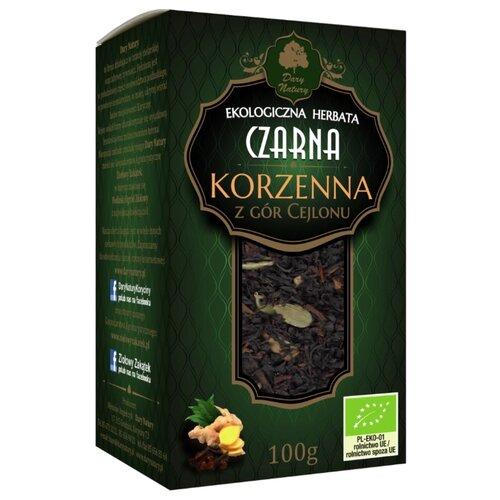 Чай черный Dary Natury Czarna korzenna, 100 гЧай<br>