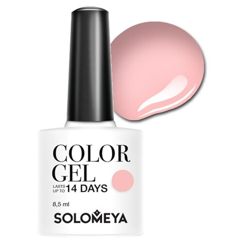 Гель-лак для ногтей Solomeya Color Gel, 8.5 мл, оттенок Tea Rose/Чайная роза 106