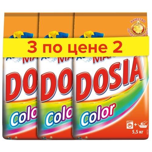 Стиральный порошок Dosia Color 16.5 кг пластиковый пакетСтиральный порошок<br>