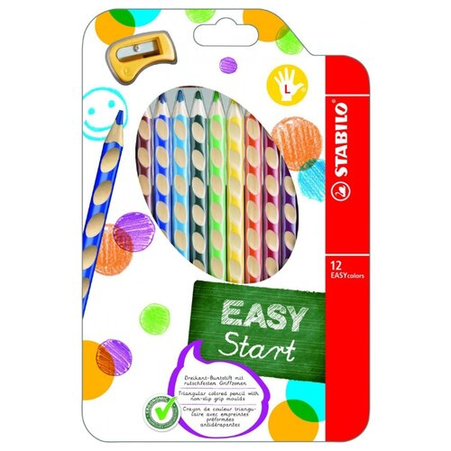Купить STABILO Цветные карандаши EASY colors 12 цветов (331/12)