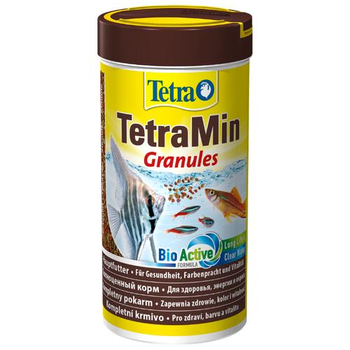 Сухой корм для рыб Tetra TetraMin Granules 250 мл сухой корм для рыб tetra marine xl granules 250 мл